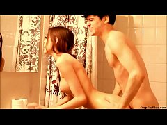 Sister Seduces Brother In The Shower