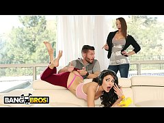 BANGBROS - Gamer Chick Adria Rae Fucked By Her Stepbrother Mike Mancini