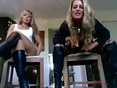 2 German MILFs Humilate You POV - jetztfickmich.com