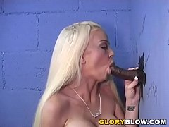 Carson Carmichael Sucks Black Cock In The Gloryhole