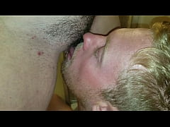Licking her pussy while she pees