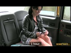 pervy taxi driver makes the most of his dream fuck on his taxicab
