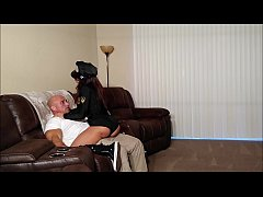 My hot sister in a cop costume gets creampied