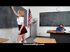 InnocentHigh - Teachers Pet Gets A Creampie