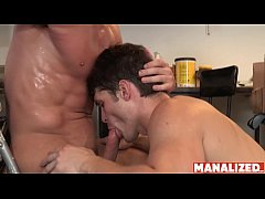 MANALIZED Cade Maddox Cums Hard After Raw Fucking Young Jock