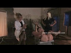 Lesbian slave abused and dominated