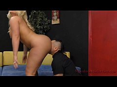 Julie Makes Her Wimp Husband Eat Her Ass- Julie...