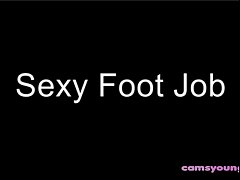 Sexy Foot Job Fetish Teaser Free Webcam Porn