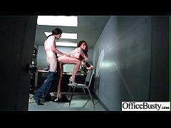 Hardcore Sex In Office With Big Round Tits Slut Girl (Monique Alexander) clip-23