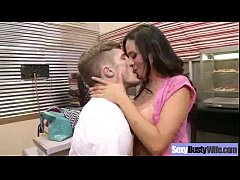 Sex Tape With Busty Naughty Housewife (ariella ferrera) video-06