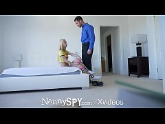 Nanny fucks for her job