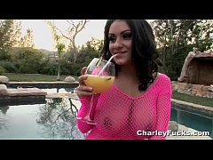 Poolside Sex With Charley Chase