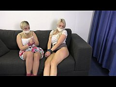 Penny Lee & Bad Dolly Naughty Friends play bondage games