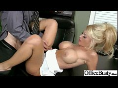 Lovely Worker Slut Girl (kayla kayden) With Round Big Boobs Bang In Office clip-23