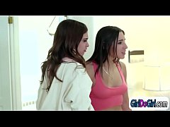 Abella Danger asslicked and facesitted by haunted Riley Reid