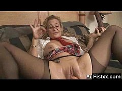 Crazy Fisting Hottie Hard Screwed
