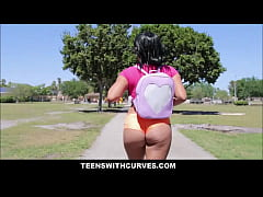 Sexy Big Ass Latina Teen Julz Gotti Oiled Up And Fucked
