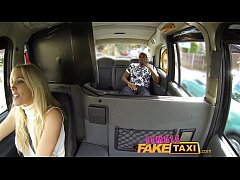 FemaleFakeTaxi Creampie from black guy, cheating builder, huge facial X TUBE