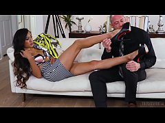 Asian tranny Venus Lux Dominates a man