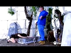 Mourning Housewife Shannya Tweeks Ass Fucked On Her Dead Husbands Grave