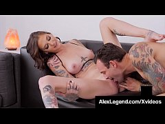 Hot Girlfriend Rocky Emerson Gets Alex Legend's Fat Cock!