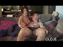 Old Young Babes Big Natural Juicy Tits Young boobs bouncing compilation sex