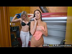 Brazzers - Hot And Mean - Tight And Tanned Part 1 scene starring Aubrey Rose and Cory Chase