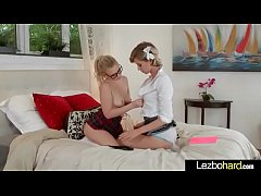 Hot Sex Scene Between Teen Lesbians Girls (Haley Reed & Bailey Brooke) video-09