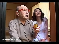 Unsatisfied Japanese fucking father and brother in law