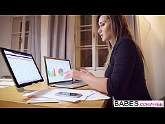 babes - office obsession - honey im home starring clea gaultier and naomi bennet clip