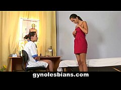 Sweet teen girl seduced by gynecologist