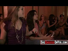 23 hot milfs at cfnm party caught cheating