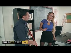 Big Tits at School - (Tegan James, Derrick Ferrari) - Washing Her Mouth Out With Cum - Brazzers