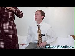 Mormon slut gets fucked