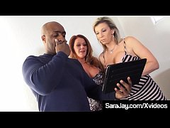 Wet Older Ladies Sara Jay & Kate Faucett suck & fuck a big black cock to get paid in this awesome interracial fuck fest threesome! Full Video & Sara Jay Live @ SaraJay.com!
