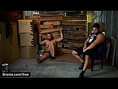 Casey Kole with Damien Stone at Bareback Inquisition Part 3 Scene 1 - Trailer preview - Bromo