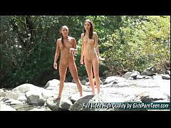 Mary and Aubrey II water porn lesbians pussy
