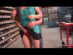 Amateur french teen hard anal fucked and facialized in our warehouse