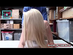 Police Officer Banging Shoplyfter Riley Star