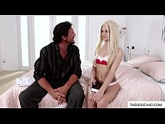 Dad shocked by naughty stepdaughter