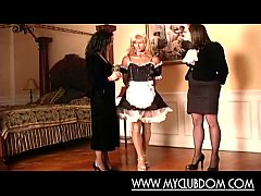Dominant ladies and a submissive guy