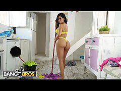 BANGBROS - Latina Housekeeper With Big Ass Takes Anal From Her Client