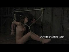 Amber Rayne in a category 5 suspension