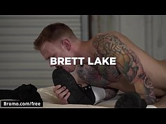 Brett Lake with Jordan Levine at Warehouse Chronicles Boot Slave Scene 1 - Trailer preview - Bromo