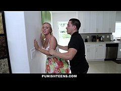 PunishTeens - Brutal Punishment For Daddys Girl