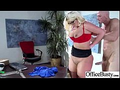 (julie cash) Busty Girl Enjoy Hard Stryle Sex In Office video-21