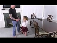 little punished be her dad for smoking www.punish-xxx.com