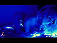 Sexy Milf Fucks and Suck with Neon Style POV, 4K (Ultra HD) - Alena LamLam