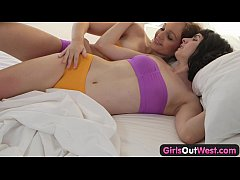 Girls Out West - Lesbian oral sex