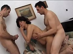 milf screwed by two cocks